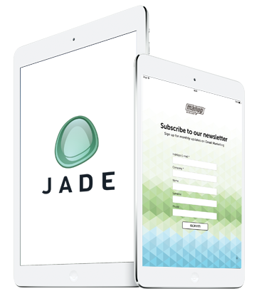 Create a form with Jade