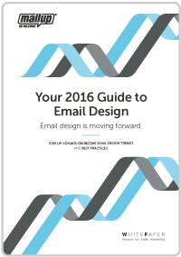 The 2016 guide to email design