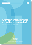 Are your emails ending up in the spam folder?