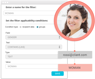 Track the identikit of your contacts